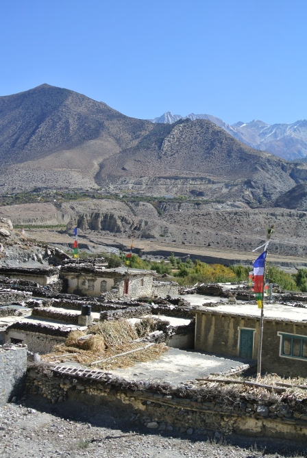 Random small town between Mapha and Jomsom