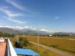 the runway at Pokhara airport