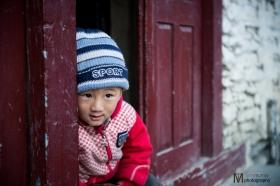 Marpha Nepali boy
